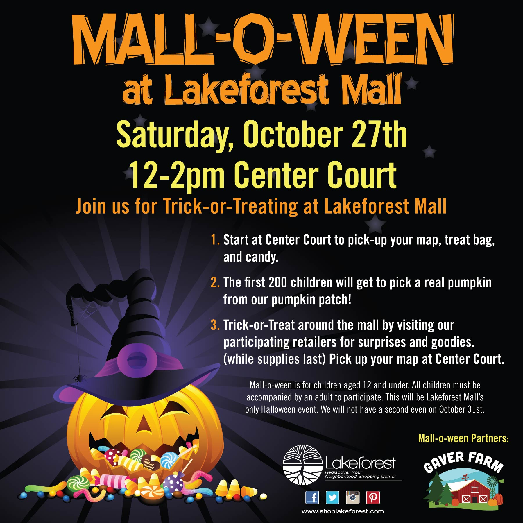 Event Mall O Ween 701 Russell Ave Gaithersburg Md